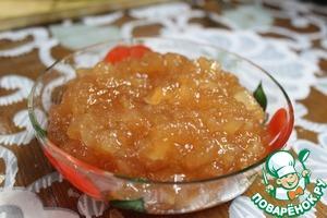 Рецепт Конфитюр яблочный с ароматом корицы