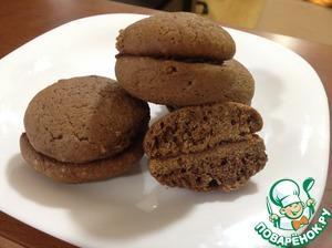 Готовим рецепт с фотографиями Шоколадное печенье