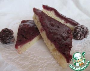 Рецепт Ежевичные постные пирожные