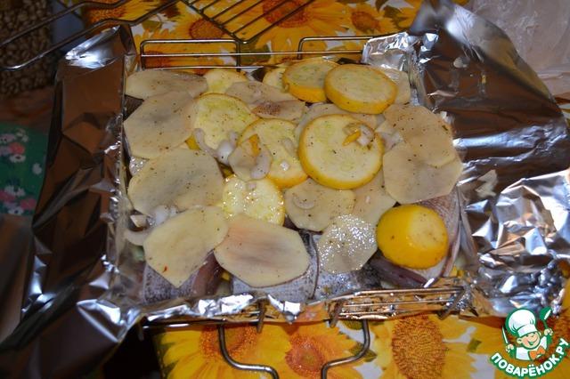 Овощи на костре рецепты в фольге