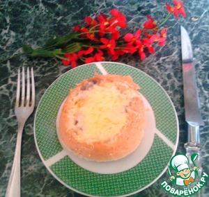 Рецепт Жюльен в булочке
