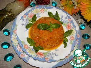 Рецепт Морковная икра
