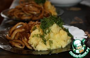 Рецепт Кальмары а-ля по-китайски