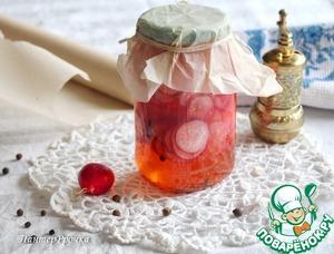 Рецепт Мгновенный маринованный редис