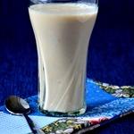 Молочный коктейль с овсяными хлопьями