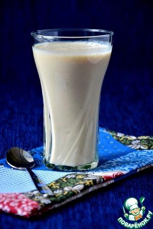 Рецепт Молочный коктейль с овсяными хлопьями