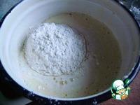Пирог сливы на снегу ингредиенты