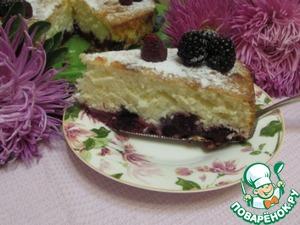 Рецепт Шарлотка с ягодами наливная