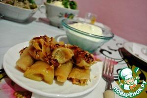 Рецепт Голубцы из квашеной капусты