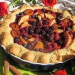 Ягодно-фруктовый пирог