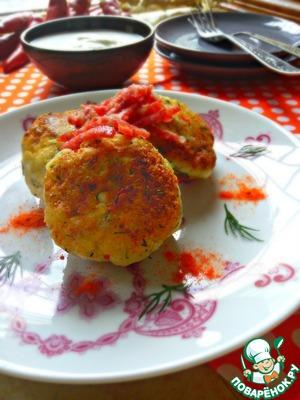 Рецепт Острые сырники с брынзой