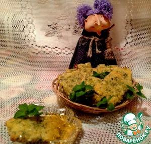 Рецепт Ароматное печенье с мелиссой и сыром