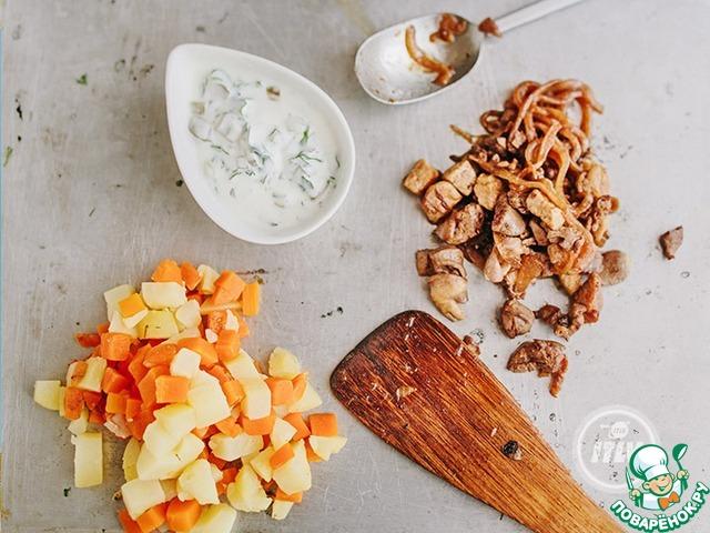 Салат из соленых огурцов и картофеля рецепты с 14