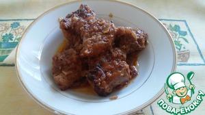Рецепт Свиные ребрышки в духовке