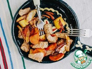 Как готовить домашний рецепт приготовления с фото Русское жаркое