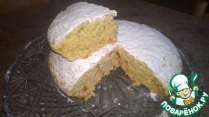 Рецепт Геркулесовый кекс с курагой и изюмом в мультиварке