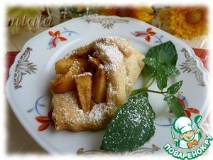 Рецепт Мини плетенки с яблоками