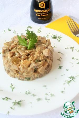 Рецепт Баклажаны в сливочном соусе