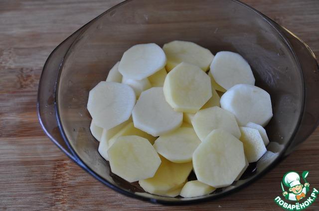 Картошка в микроволновке рецепт с фото пошагово