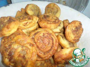 Рецепт Шанежки с мясом