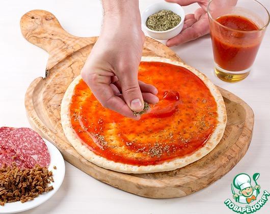 Делаем пиццу пошагово с