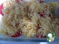 Картошка с помидором и сыром в СВЧ ингредиенты