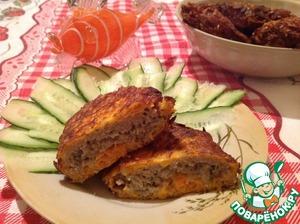 Рецепт Рыбные котлеты в морковном кляре
