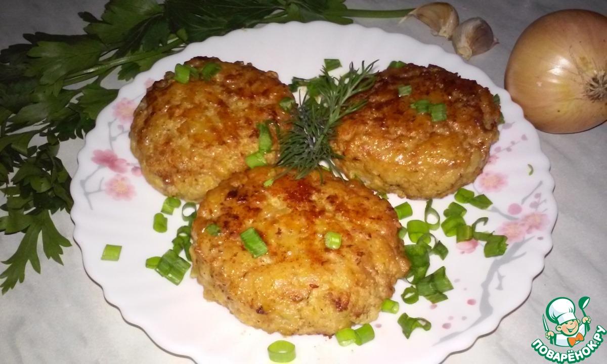 Котлеты из фарша с рисом рецепт с пошаговым