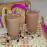 Какао-коктейль с овсяными хлопьями