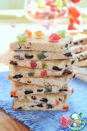 Рецепт Медовое печенье «Лекерли»