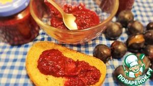Рецепт Пикантный соус из слив