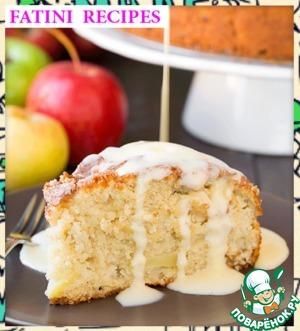 Рецепт Ирландский яблочный пирог с заварным кремом