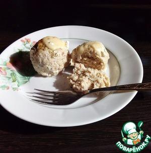 Рецепт Фрикадельки из рыбы под сливочным соусом