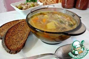 Рецепт Диетический капустный суп