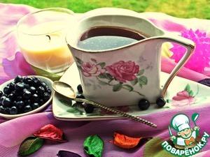 Рецепт Черничный кофе