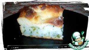 Рецепт Закрытый пирог с рисом и зеленью