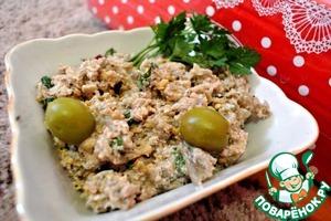 Рецепт Закуска из баклажанов по-грузински