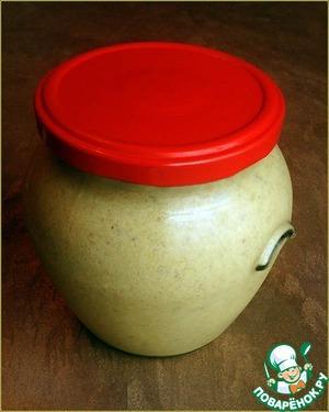 Рецепт Горчица яблочно-грушевая