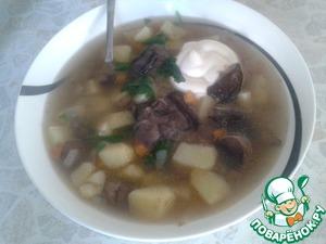 Рецепт Суп с лесными грибами