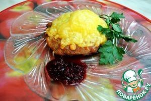 """Рецепт Блюдо-закуска """"Ласточкино гнездо"""""""