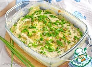 Рецепт Картофель в молоке под сыром (СВЧ)