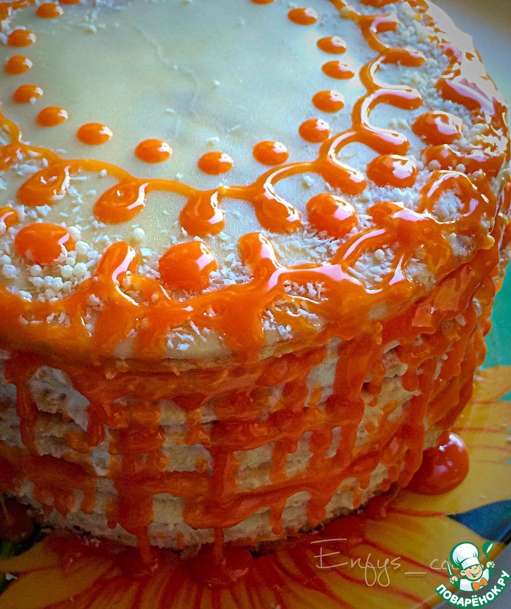 Торт творожный рецепт в домашних условиях на сковороде