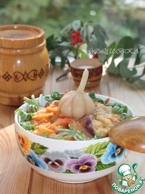 Рецепт Теплый салат с мятой и чечевицей