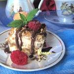 """Мексиканский десерт """"Жареное мороженое"""""""