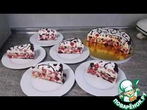 Сметанный торт домашний пошаговый рецепт с фото готовим
