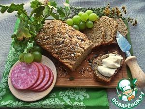 Рецепт Бездрожжевой быстрый хлеб
