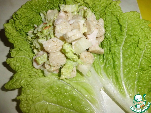 Голубцы из листьев салата рецепт пошагово