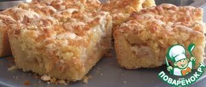 Рецепт Сладкий пирог с яблоками