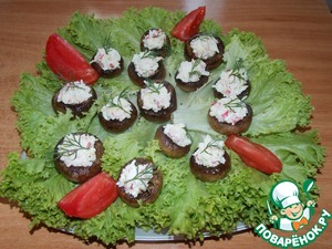 Рецепт Закуска на грибах