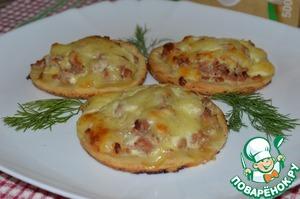 Рецепт Мультизлаковые лепешки с мясным фаршем
